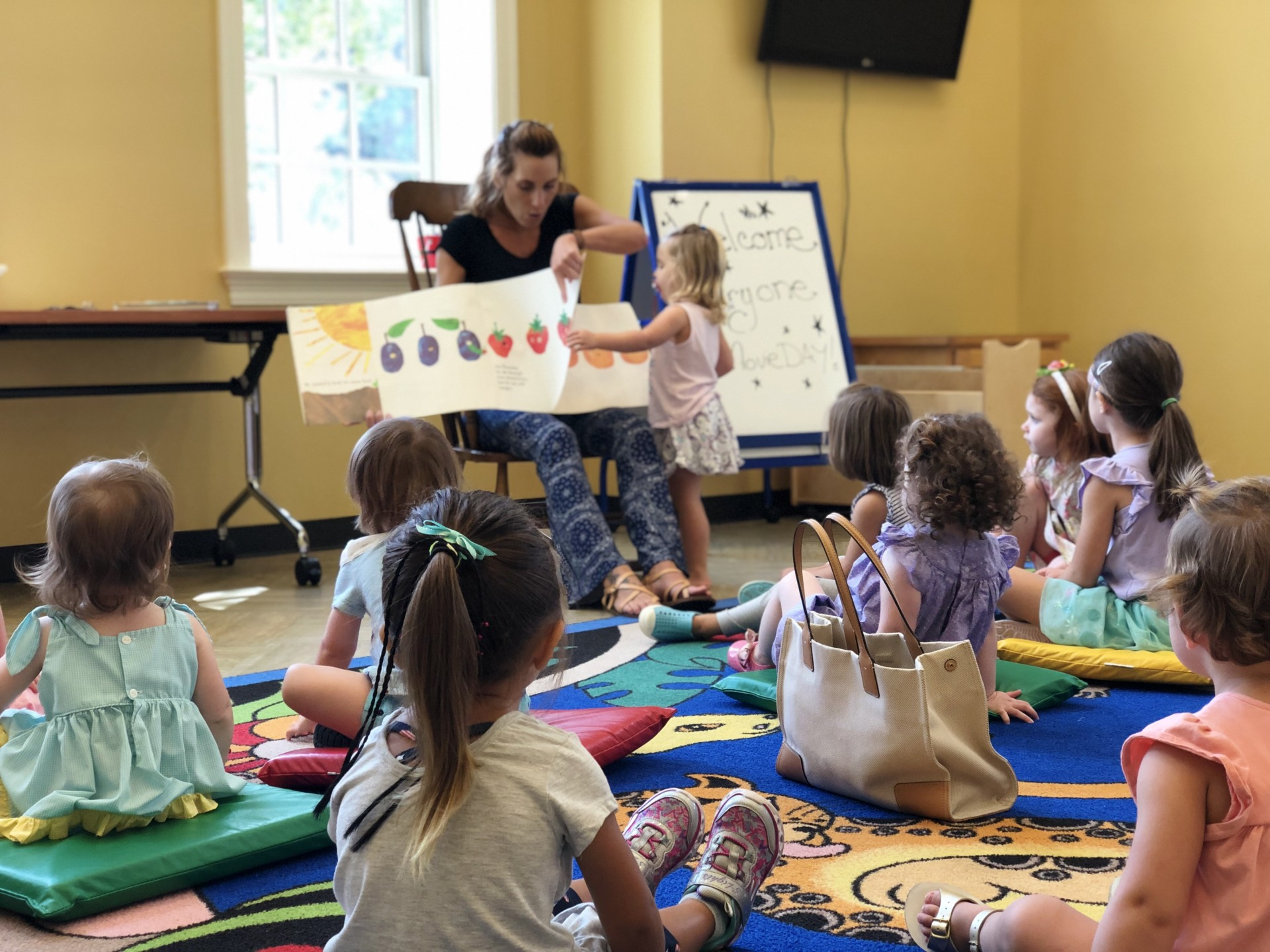 Join us for our Storytimes!  Toddlers & Tykes at 10:30am every Thursday.  Wiggles & Giggles 10.30am every Friday.